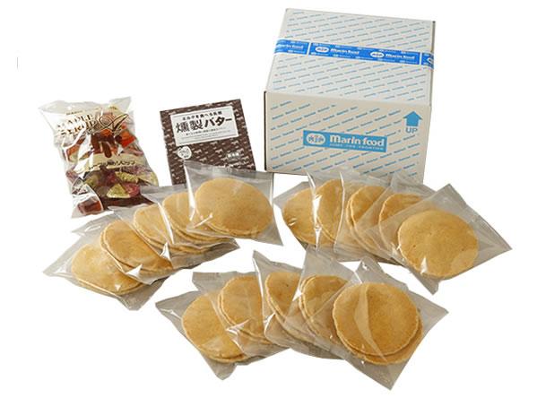 ライ麦パンケーキセット