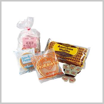 ワッフル&ホットケーキお試しセット(ジャンボホットケーキ1袋、北海道ホットケーキ1袋、バターミルクパンケーキ1袋、アメリカンワッフル1袋)