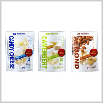 キャンディチーズ 3種|プレーン,カマンベール,アーモンド
