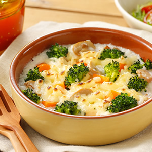 No allergenic ingredients. Rice Gratin.
