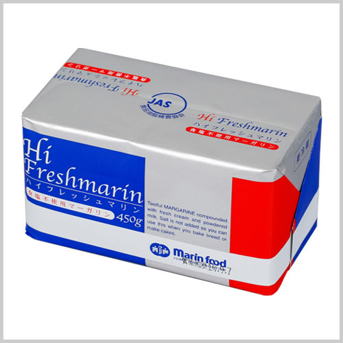 High Fresh Marin Margarine Salt free 450g