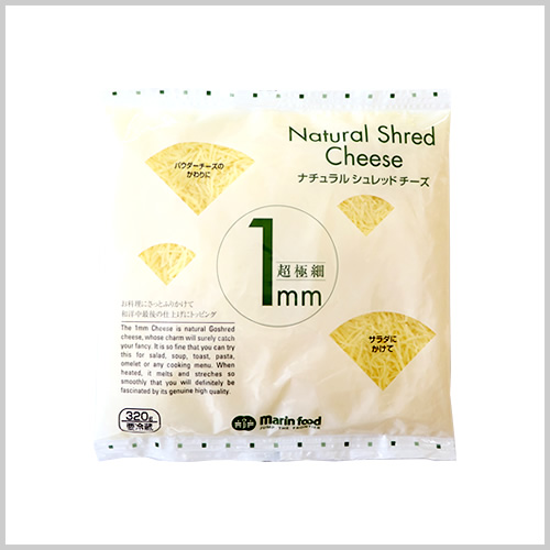 Ultra-thin 1mm Natural Shredded Cheese 320g