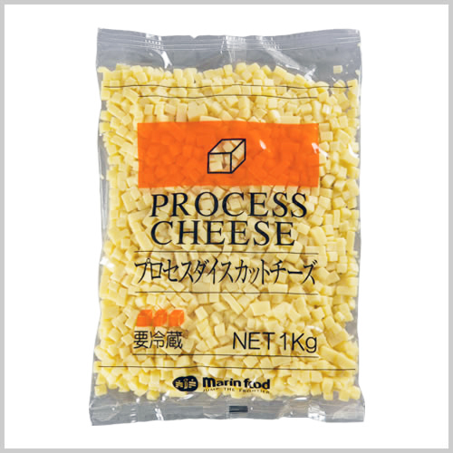 Processed Diced Cut Cheese 8mmA