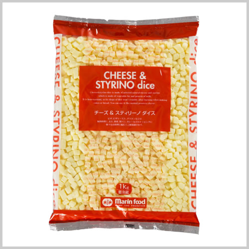Cheese & Styrino Dice 1kg
