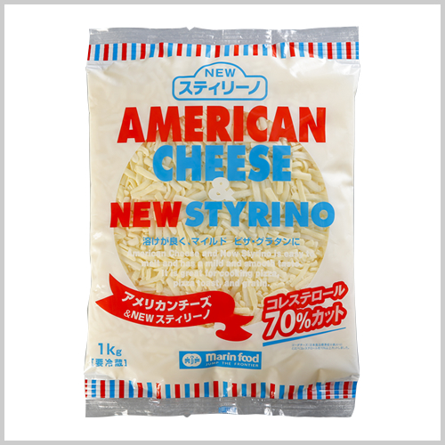 American Cheese & New Styrino Shred 1kg
