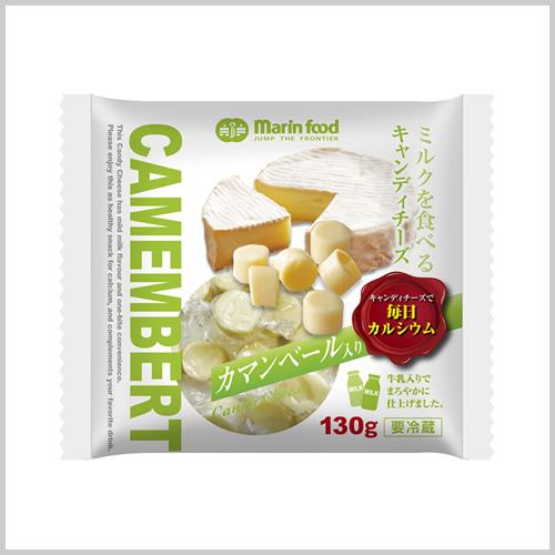 ミルクを食べるキャンディチーズ カマンベール入り130g