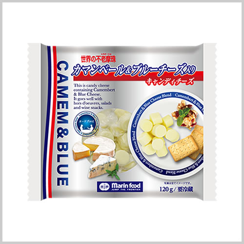 World Fromage Candy Cheese with Camembert and Blue Cheese 120g