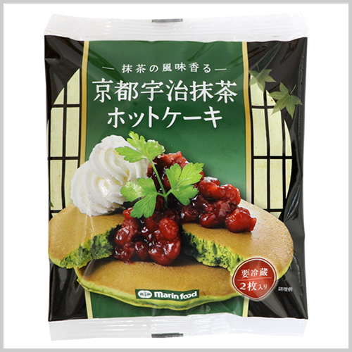 京都宇治抹茶ホットケーキ
