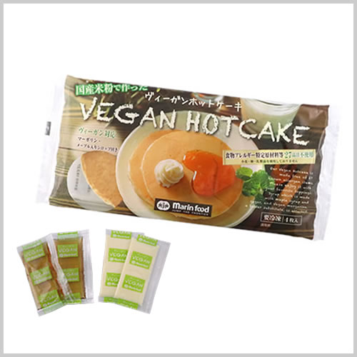 Vegan Hotcake (4 slices)