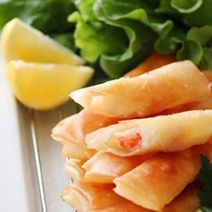 海老とチーズのスティック春巻き~柚子こしょう風味~