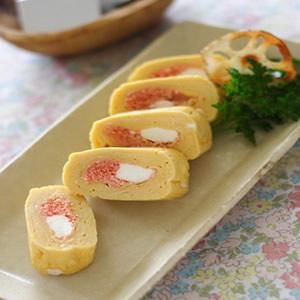 ボーテ・ブランと明太子の卵焼き