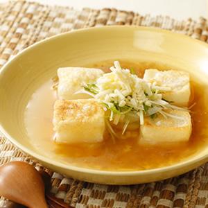 【アレルゲン原料不使用】揚げ餅入りオニオンスープ