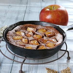 りんごのホットチョコレートクラフティ