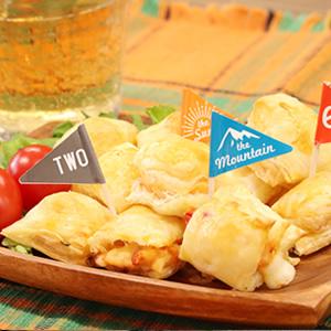 チーズ入りミニパイ