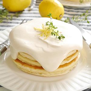 レモンヨーグルトパンケーキ