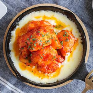 鶏むね肉でヘルシー♪ヤンニョムチキン