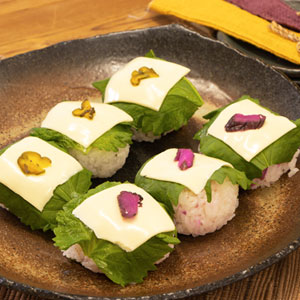 チーズ手まり寿司