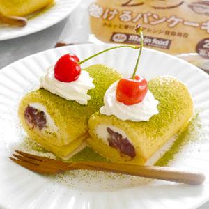 あんクリームロールパンケーキ