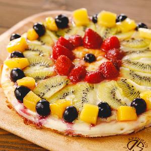 フルーツたっぷりはちみつピザ