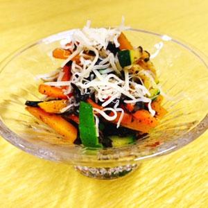 ひじき入り温野菜サラダ