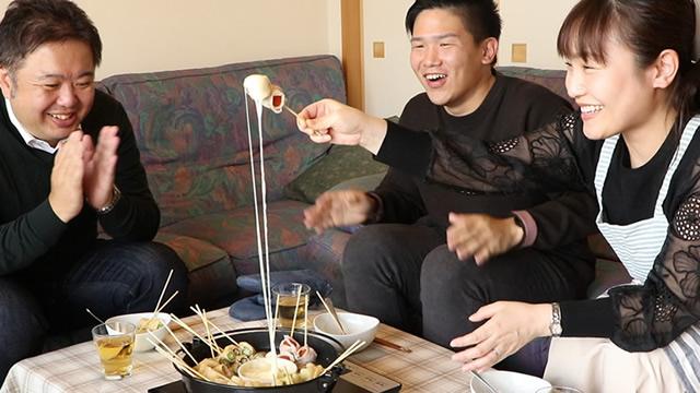 牛丸キッチン~モッツァレラチーズ編~